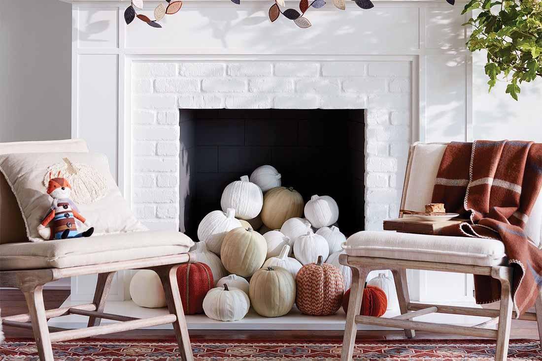 利用秋季妝點7個居家空間,打造一個舒適的環境