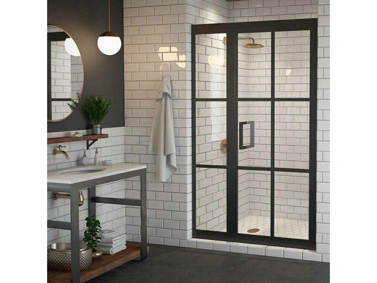 浴室玻璃門重生記!4招重拾光、透、亮