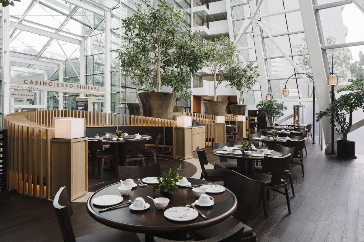 來一場視覺與味覺的雙重盛宴:新加坡濱海灣金沙酒店喜悅中餐廳