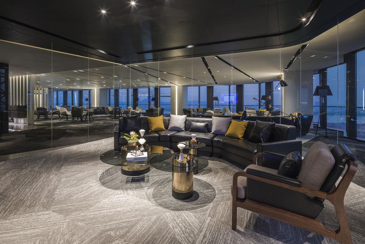 以燈光建構酒店式辦公體驗—保利魚珠港辦公銷售中心