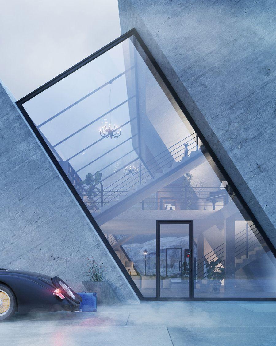 將那些有趣的品牌標誌 作為建築的樣子