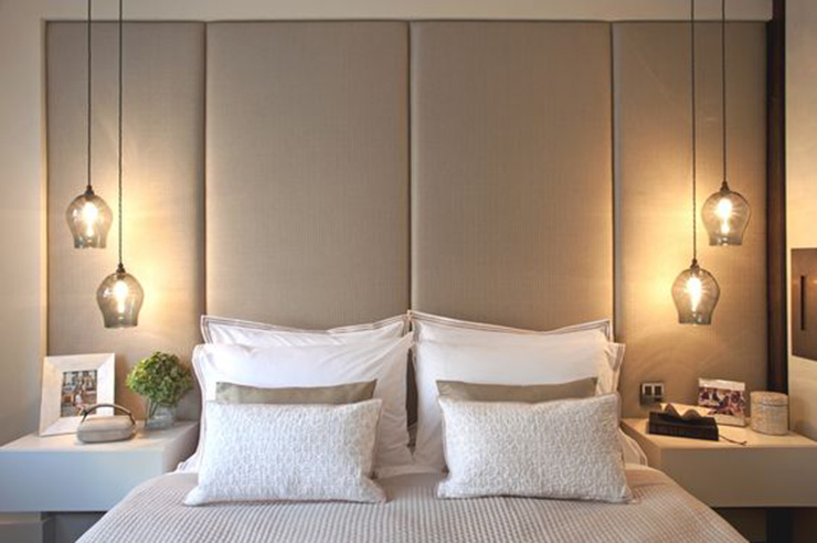 6 idshow - Lamp height for bedroom night table ...