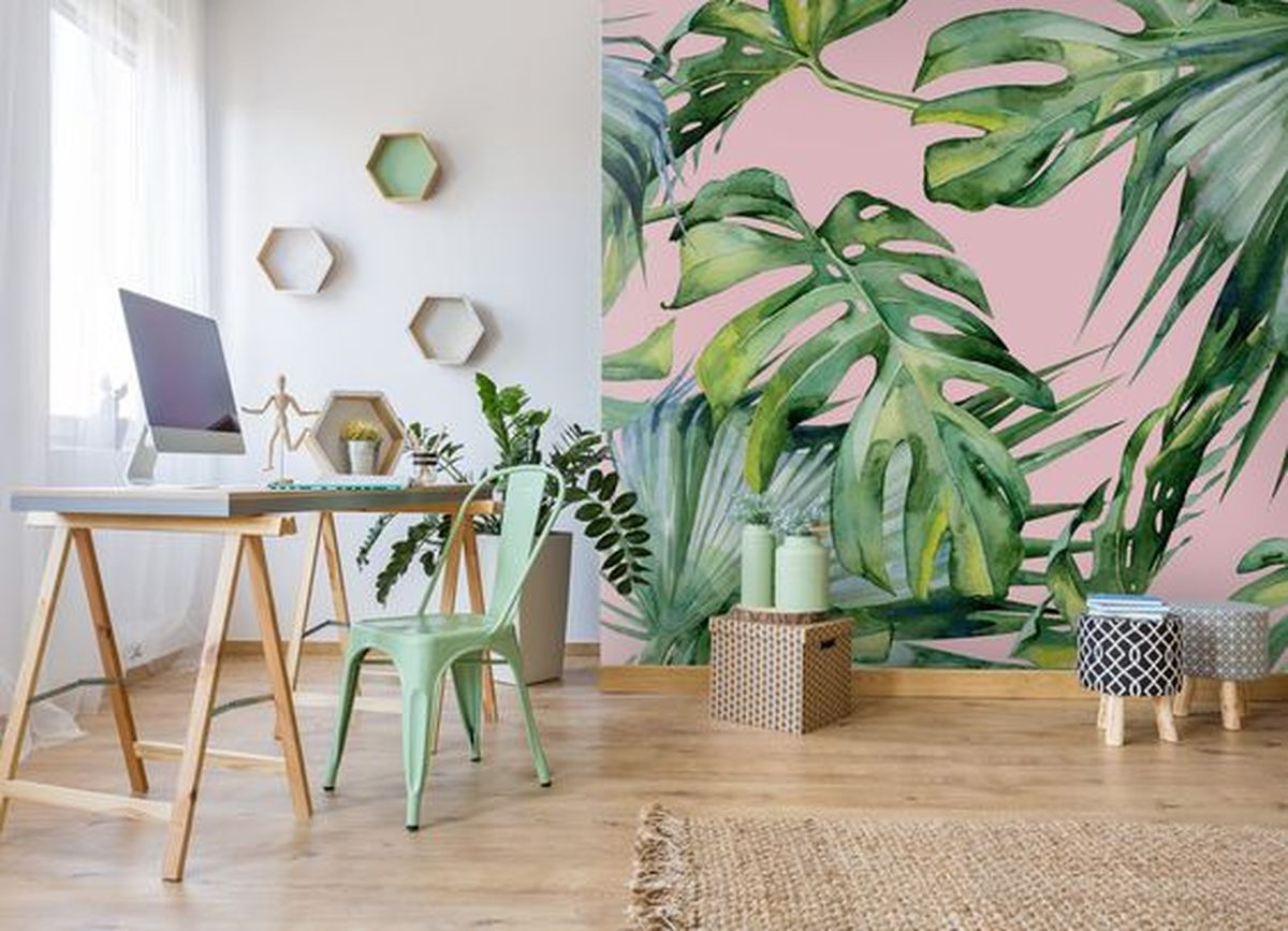 替單調牆壁換上美麗新表情 貼壁紙的小撇步 Id Show 好宅秀室內設計